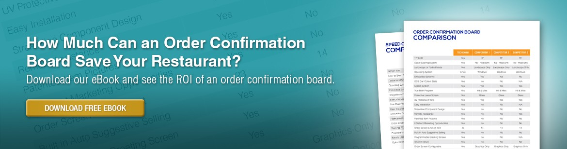 Order Confirmation Board ROI Brochure